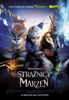 Polski plakat filmu 'Strażnicy Marzeń'