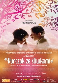 Polski plakat filmu 'Kurczak Ze Śliwkami'