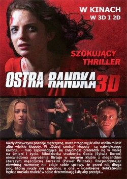 Tył ulotki filmu 'Ostra Randka'