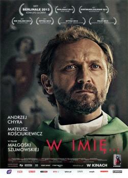 Przód ulotki filmu 'W Imię...'