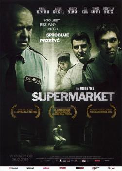 Przód ulotki filmu 'Supermarket'