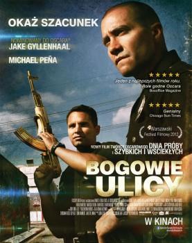 Polski plakat filmu 'Bogowie Ulicy'