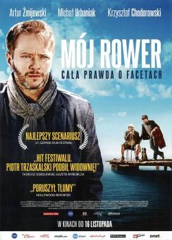 Przód ulotki filmu 'Mój Rower'