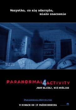 Polski plakat filmu 'Paranormal Activity 4'