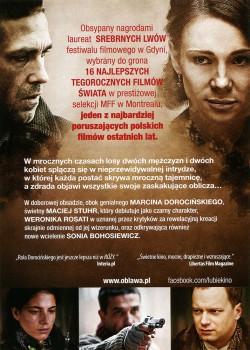 Tył ulotki filmu 'Obława'