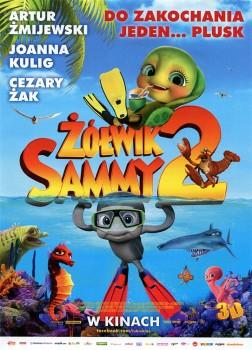 Przód ulotki filmu 'Żółwik Sammy 2'