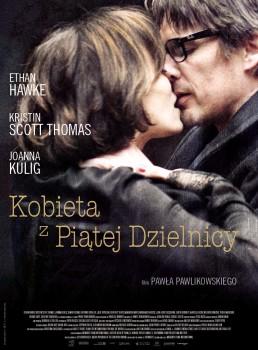 Polski plakat filmu 'Kobieta Z Piątej Dzielnicy'
