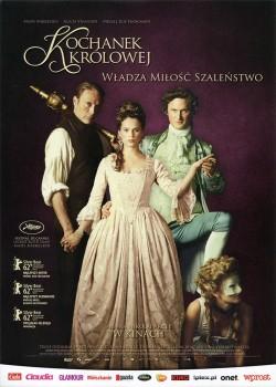 Przód ulotki filmu 'Kochanek Królowej'