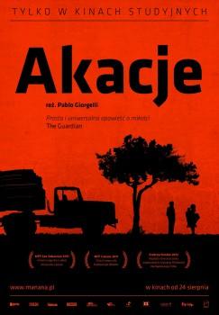 Polski plakat filmu 'Akacje'
