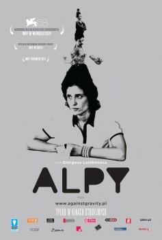 Przód ulotki filmu 'Alpy'