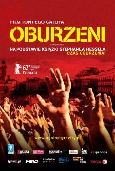 Przód ulotki filmu 'Oburzeni'
