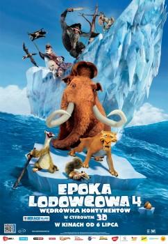 Polski plakat filmu 'Epoka Lodowcowa 4'