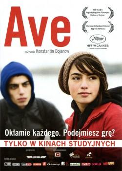 Przód ulotki filmu 'Ave'