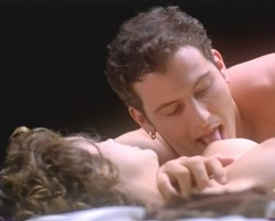 Alyssa Milano Getting Her Boobs Licked and Sucked in Embrace of the Vampire