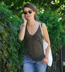 Keri Russell - out in NYC 9/4/13