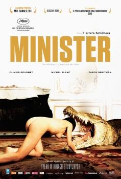 Przód ulotki filmu 'Minister'