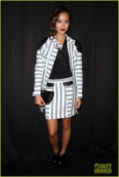 Jamie Chung - Rebecca Minkoff Spring 2014 Fashion Show in NYC 9/6/13