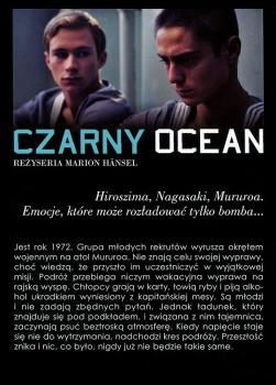 Tył ulotki filmu 'Czarny Ocean'