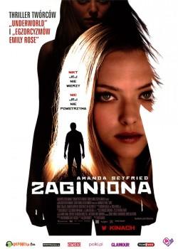 Przód ulotki filmu 'Zaginiona'