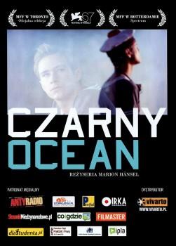 Przód ulotki filmu 'Czarny Ocean'