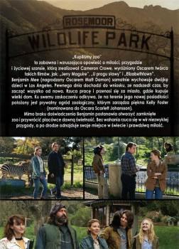 Tył ulotki filmu 'Kupiliśmy Zoo'