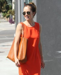 Minka Kelly - out in West Hollywood 9/8/13