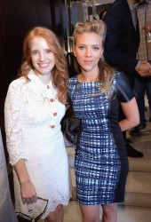 Scarlett Johansson & Jessica Chastain - Variety Studio at the 2013 TIFF in Toronto 9/9/13