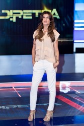 Elisabetta Canalis - 'La Vita in Diretta' Season Launch in Rome 9/9/13