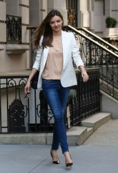 Miranda Kerr - out in NYC 9/9/13