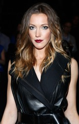 Katie Cassidy - Kaufmanfranco Spring 2014 fashion show in NYC 9/9/13
