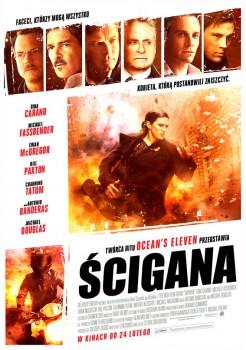 Polski plakat filmu 'Ścigana'