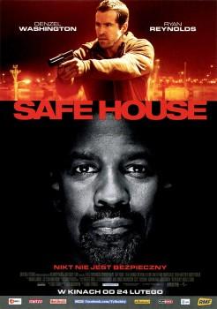 Przód ulotki filmu 'Safe House'