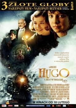Przód ulotki filmu 'Hugo i Jego Wynalazek'