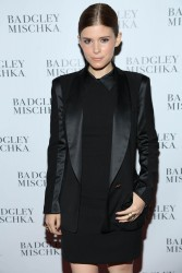 Kate Mara - Badgley Mischka NYC Store Opening 9/10/13