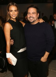 Jessica Alba - Narciso Rodriguez Spring 2014 fashion show in NYC 9/10/13