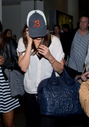 Mila Kunis - at LAX Airport 9/11/13
