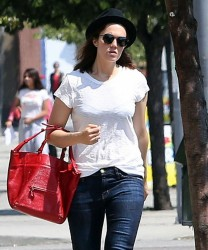 Mandy Moore - Out in Los Feliz 9/11/13