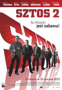 Polski plakat filmu 'Sztos 2'