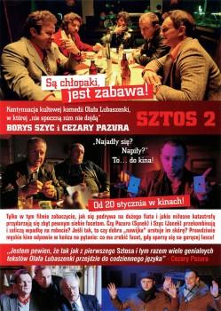 Tył ulotki filmu 'Sztos 2'