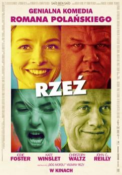 Polski plakat filmu 'Rzeź'