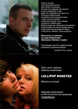 Tył ulotki filmu 'Oslo, 31 Sierpnia'