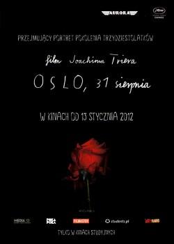 Przód ulotki filmu 'Oslo, 31 Sierpnia'