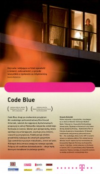 Tył ulotki filmu 'Code Blue'