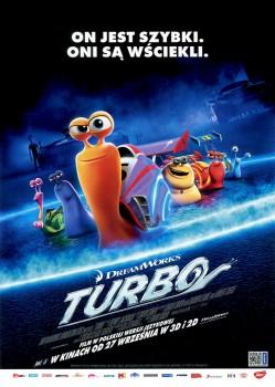 Przód ulotki filmu 'Turbo'