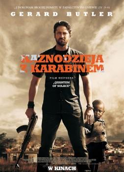 Polski plakat filmu 'Kaznodzieja Z Karabinem'