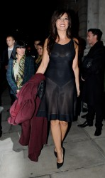 Daisy Lowe - W Magazine Dinner at Fashion Week in London 9/14/13