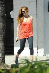Isla Fisher - out in LA 9/13/13