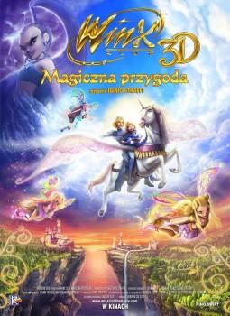 Polski plakat filmu 'Winx Club - Magiczna Przygoda'