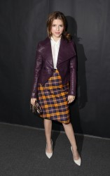 Anna Kendrick - J. Vivienne Westwood Red Label fashion show in London 9/15/13