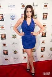 Elizabeth Gillies at the Glitter & Glam Book Launch Party in Los Angeles on September 12, 2013